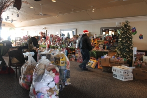 The Pirate Toy Fund drove all the way from Rochester, NY to bring hundreds of donated toys to Sandy Victims.